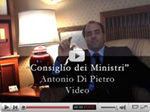 Video di Di Pietro su You Tube