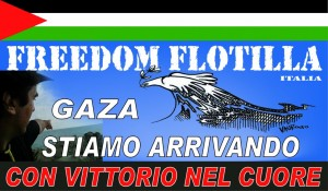 Bandiera di Freedom Flottilla