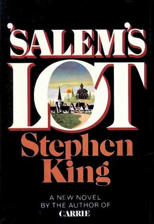 La prima copertina di Salem's Lot, di Stephen King