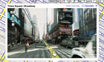 New York, from Google Street View